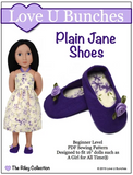 Plain Janes Shoe Pattern For 16-inch dolls