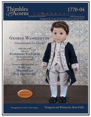 PDF Sewing Pattern George Washington's Uniform For 18-inch dolls