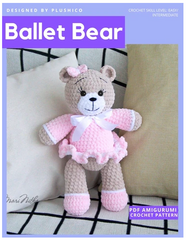 Ballet Bear Crochet Pattern