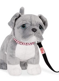 Our Generation Pitbull Puppy For 18-inch dolls