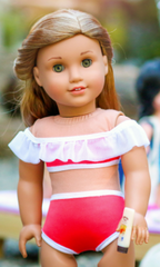 Swimsuit Variations PDF Sewing Pattern For 18-inch Dolls