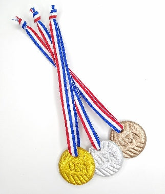 How To Make Doll-Sized Olympic Medals