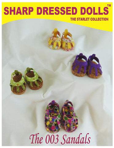 "The 003 Sandals 18"" Doll Shoes"