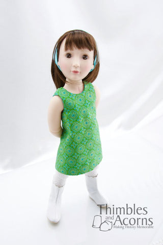 1960s Wrap Dress for A Girl For All Time Dolls