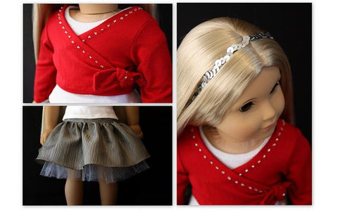 Heritage Doll Fashions Wrap 18 inch Doll Clothes Pattern