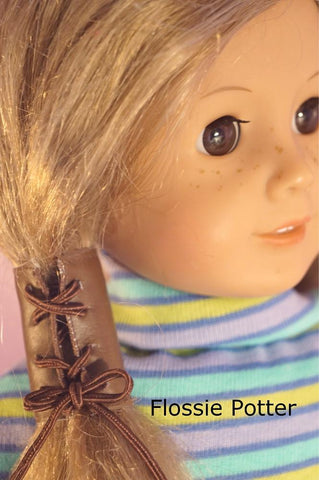 "'60s & '70s Accessories 18"" Doll Accessory Pattern"