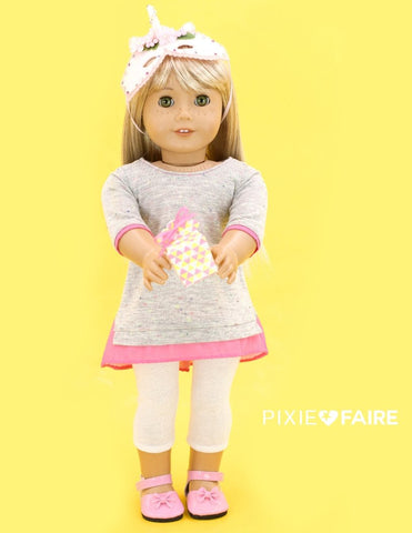 "Sheer Delight Top 18"" Doll Clothes Pattern"