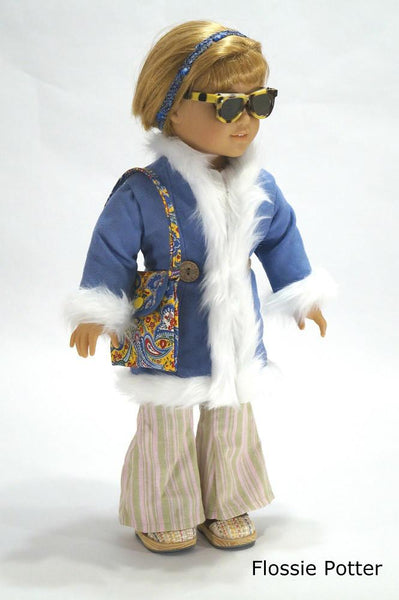 Flossie Potter 70s Triple Play Coats Doll Clothes Pattern