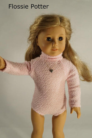 "1970s Body Suit 18"" Doll Clothes"