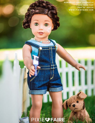 "FREE Tank Top 18"" Doll Clothes Pattern"