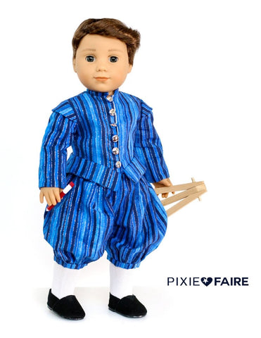 "Le Premier Prince 18"" Doll Clothes Pattern"
