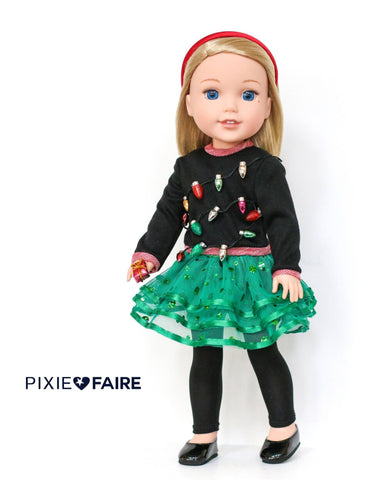 Dance Time 14-14.5 Inch Doll Clothes Pattern