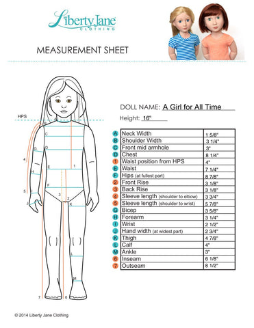 Salina Dress Pattern for AGAT Dolls