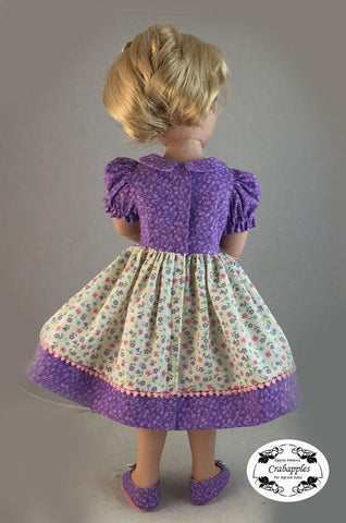 School Girl Dresses Pattern for AGAT Dolls