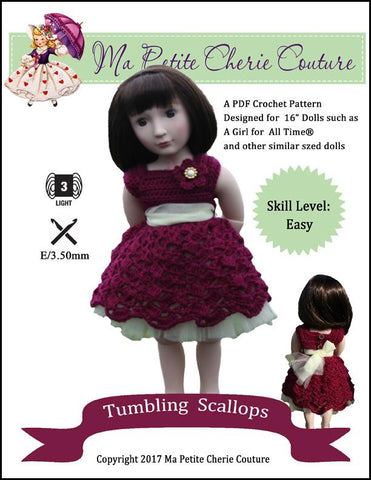 Tumbling Scallops for AGAT Dolls