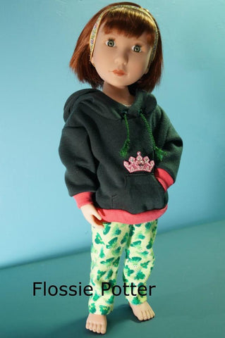Weekend Wear Hoodie & PJ Pants for AGAT Dolls