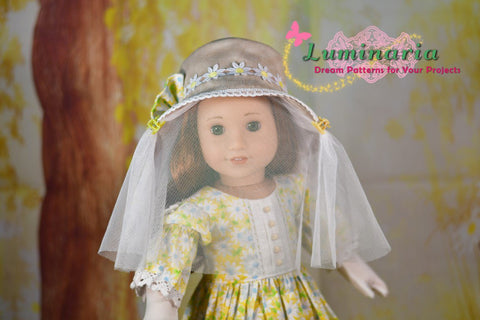 "Beekeeper 18"" Doll Clothes Pattern"
