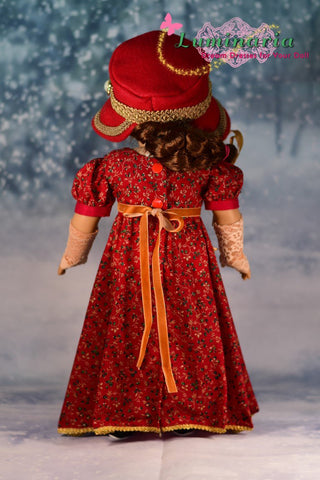 "Sense & Sensibility 18"" Doll Clothes Pattern"