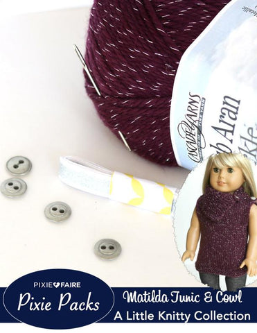 Pixie Packs Matilda Tunic Knitting Supply Kit