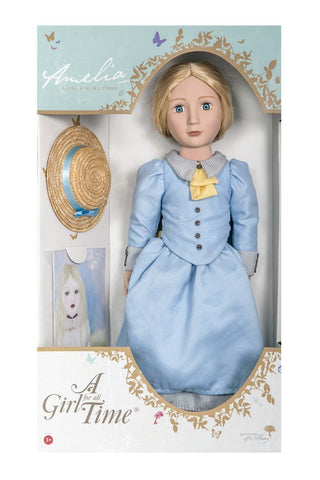 "Amelia Your Victorian Girl A Girl For All Time 16"" Doll Pixie Faire"