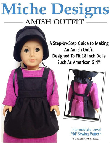 "Amish Outfit 18"" Doll Clothes"