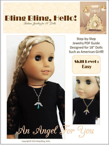 An Angel For You Doll Jewelry Pattern