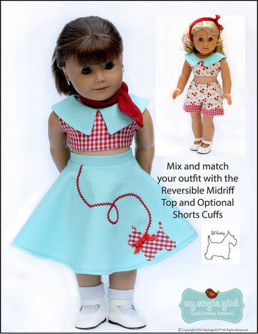 "The 4-Way Wardrobe 18"" Doll Clothes"