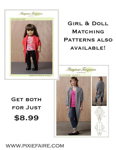 BT Ava Girl/Doll Bundle Patterns
