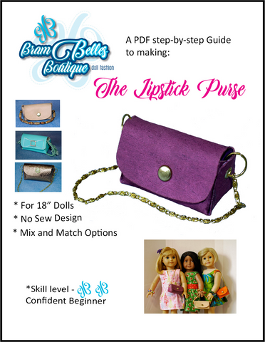 "The Lipstick Purse 18"" Doll Accessories"