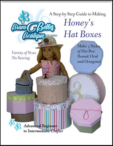Honey's Hat Boxes Doll Accessories