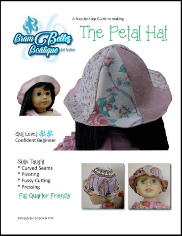 "Petal Hat 18"" Doll Accessories"