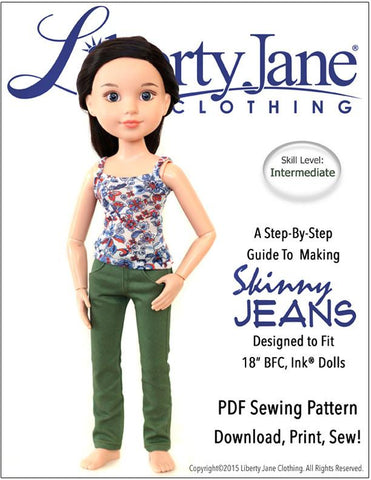 Skinny Jeans for BFC, Ink Dolls