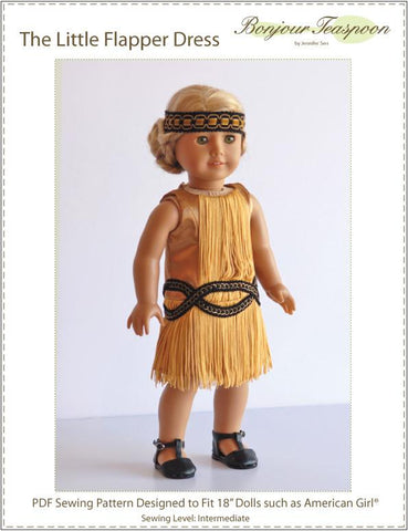 "The Little Flapper Dress 18"" Doll Clothes"