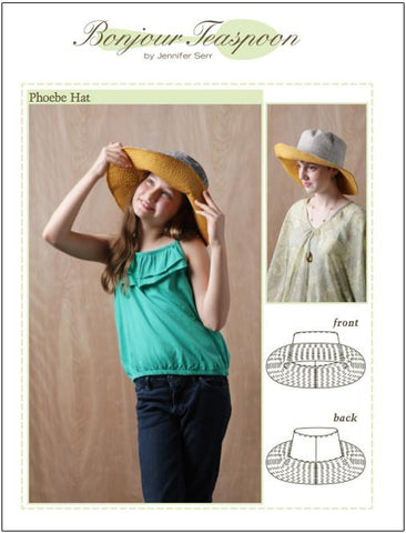 Phoebe Hat Pattern for Girls