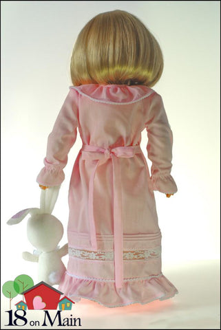 "Heirloom Dreams 18"" Doll Clothes Pattern"