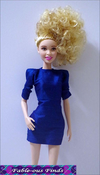 Fable Ous Finds 80 S Chic Sheath Dress And Shades Doll
