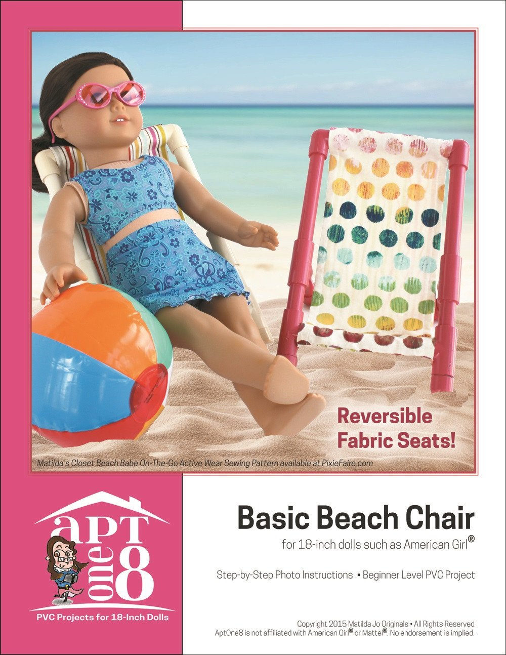 Free 18 inch doll clothes patterns and tutorials pixie faire free basic beach chair 18 pvc pattern jeuxipadfo Images
