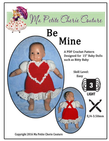 Be Mine Crochet Pattern