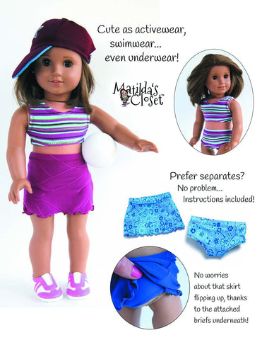 "Beach Babe On-The-Go 18"" Doll Clothes"