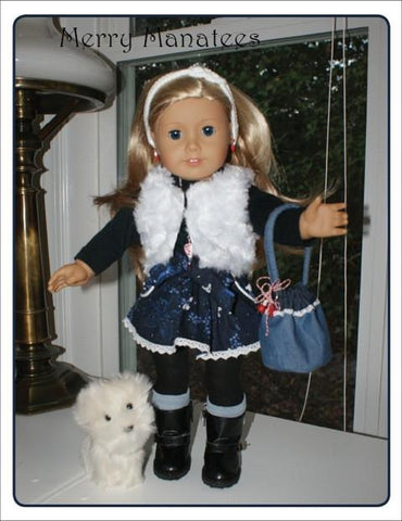 "Bethany Bucket Bag 18"" Doll Accessories"