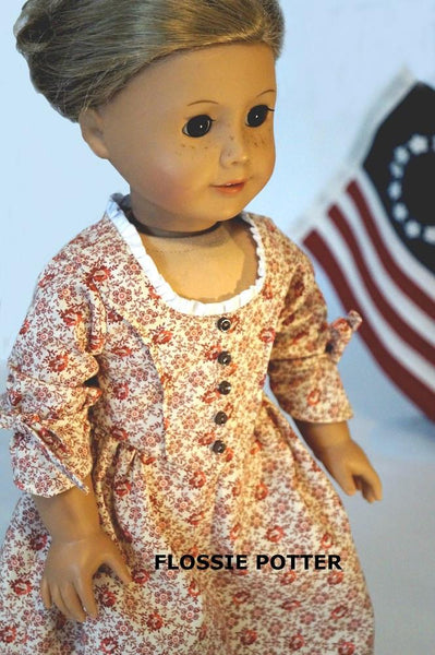 Flossie Potter Betsy Ross Flag Doll Accessory Pattern 18