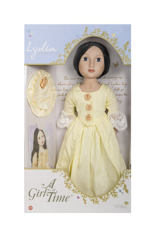 "Lydia Your Georgian Girl - A Girl For All Time 16"" Doll"