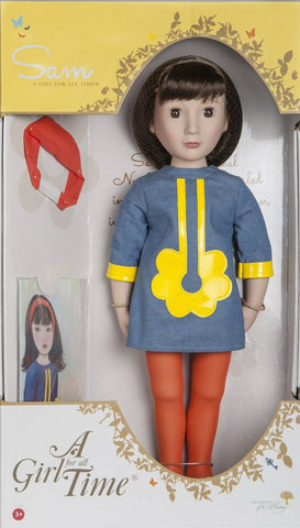 "Sam Your 1960s Girl A Girl For All Time 16"" Doll Pixie Faire"