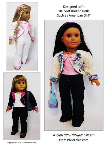 "Breezy Dayz 18"" Doll Clothes"
