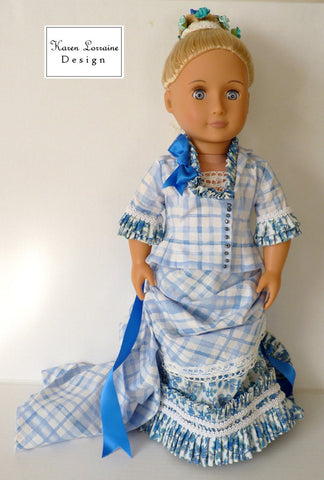 "Brighton 4-Piece Outfit 18"" Doll Clothes Pattern"