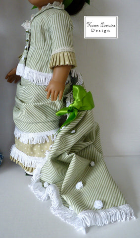 "Brighton Train 18"" Doll Clothes Pattern"