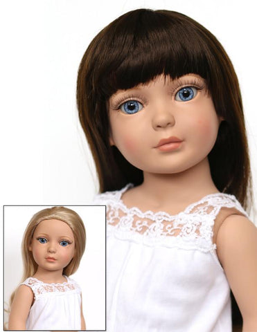"My Imagination Deluxe 18"" Doll - Brunette and Blonde"