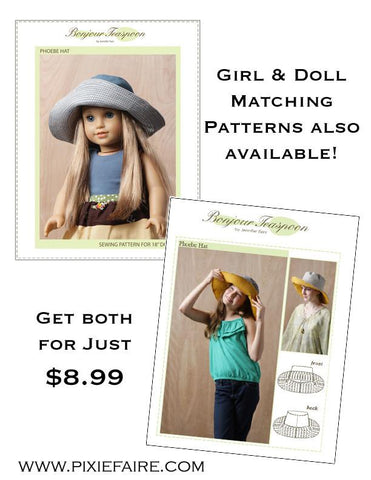 BT Pheobe Hat Girl/Doll Bundle