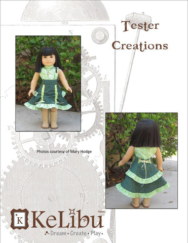 "Bustle Layer Skirt 18"" Doll Clothes"