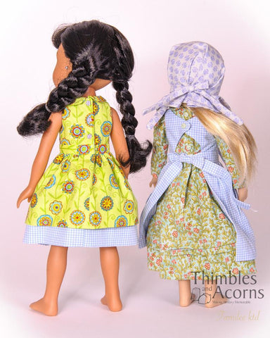 "Country Girl for 13-14"" Dolls"